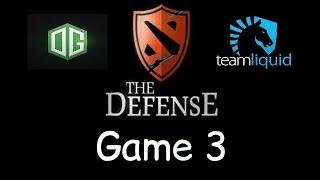 Liquid vs OG - Game 3 - The Defense Season 5 Final - Teamfights