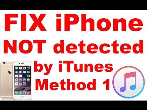 itunes not detecting iphone fix itunes cannot detect your apple iphone ipod 6782