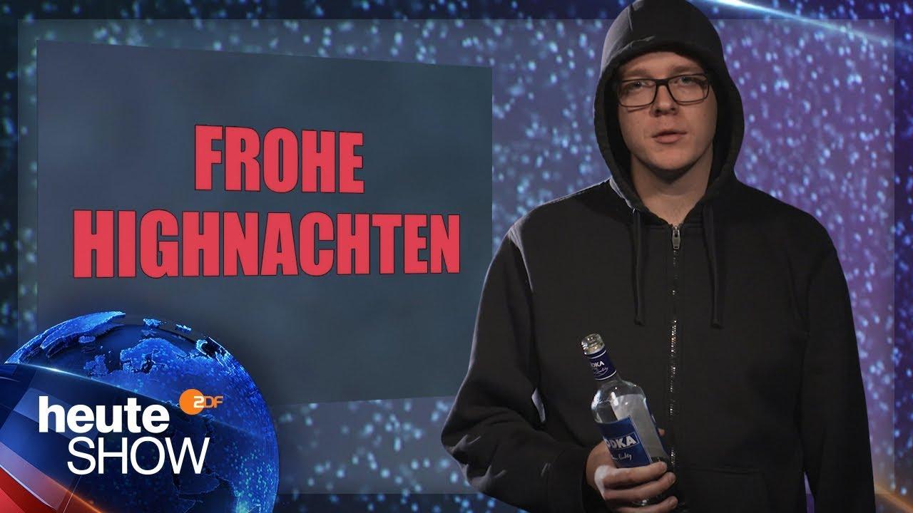 Alkohol oder Cannabis? Nico Semsrott über die deutsche Drogenpolitik | heute-show