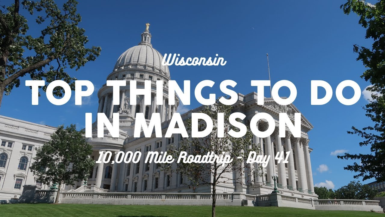 Top Things to Do in Madison, Wisconsin | 10K Road Trip Vlog 41