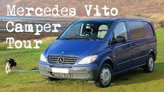 Mercedes Vito Camper Van Conversion Tour | The Carpenter's Daughter