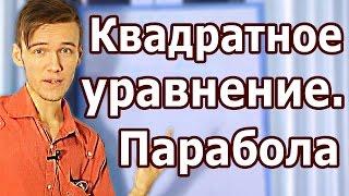 КВАДРАТНЫЕ УРАВНЕНИЯ. ПАРАБОЛА. Артур Шарифов