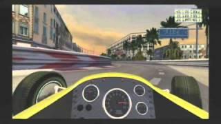 GP Classic Racing (Wii) - Street Circuit (2 laps)