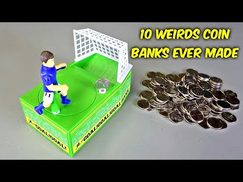 Download Youtube: 10 Weird Coin Banks Ever Made