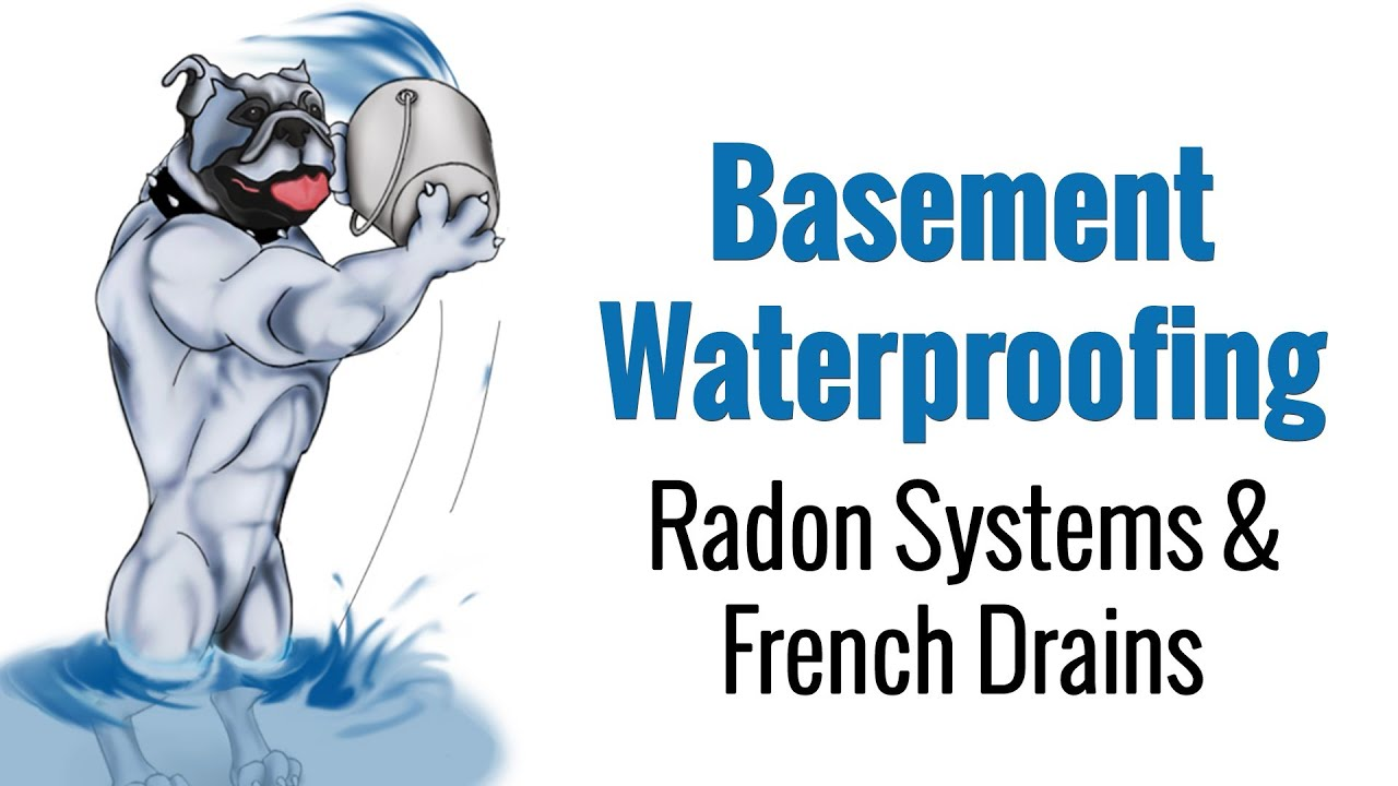 Radon Mitigation And French Drains