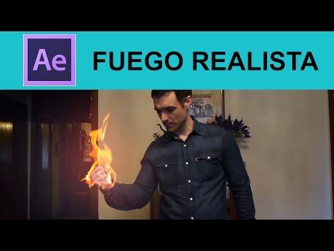 Tutorial After Effects: Efecto Fuego Realista