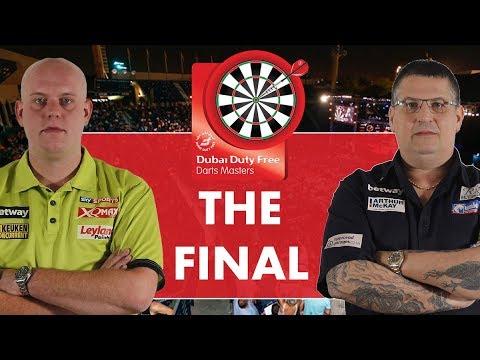 2017 Dubai Duty Free Darts Masters Final van Gerwen vs Anderson