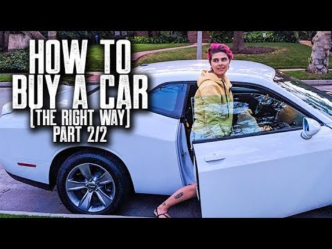 HOW TO BUY A CAR THE RIGHT WAY (PART 2)  || JERA'S NEW DODGE CHALLENGER SXT || NEGOTIATE GREAT PRICE
