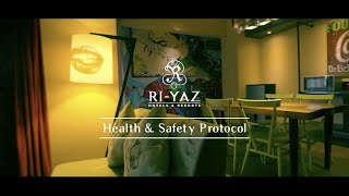 Health & Safety Protocols by Ri-Yaz Hotels & Resorts