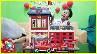 น้องบีม | รีวิวของเล่น EP146 | สถานีดับเพลิงไม้ฮาเป้ Toys