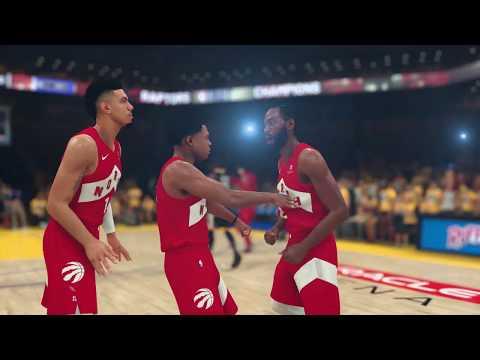 NBA 2K19 Highlight Video, Playoffs Moments Cards Celebrate Toronto Raptors' Championship Win