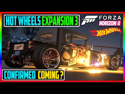 LEAKED HOT WHEELS EXPANSION 3 CONFIRMED? - FORZA HORIZON 4