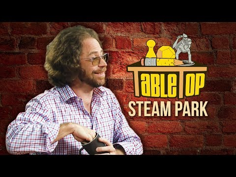 "TableTop: Jonathan Coulton, Paul Sabourin and Greg ""Storm"" DiCostanzo Play Steam Park w/ Wil Wheaton"