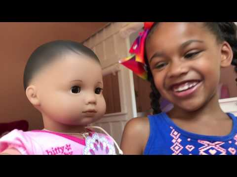 Doll PlayToys & Crib  Change - American Girl Doll Pretend Play