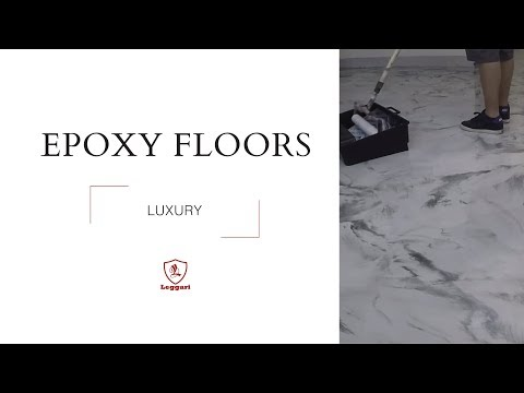 Luxury Epoxy Flooring over Wood Subfloor
