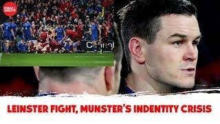 Leinster's shocking discipline, Sexton's marker, Munster's identity crisis | OTB AM Rugby