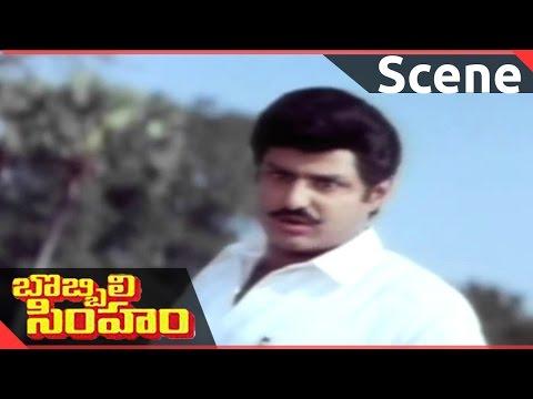 Bobbili Simham Movie || Balakrishna Powerful Dialogues in 3 Languages || Balakrishna, Meena, Roja
