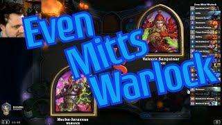 Even Warlock vs Not Odd Rogue - Hearthstone