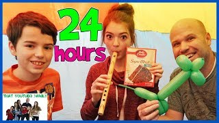 Download 24 Hours Overnight In Air Box Forts! / That YouTub3 Family Mp3 and Videos