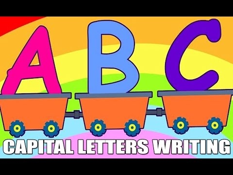 Worksheets Cursive Capital Words For Kinder Garden abcd capital letters hd learn cursive writing kindergarten series