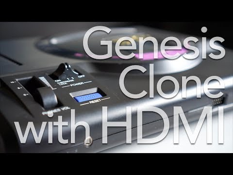 Sega Genesis Clone with HDMI!