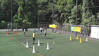 Coerver Coaching football training | Small Sided Games Drill 5