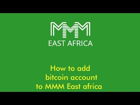 Adding a bitcoin account to MMM East Africa