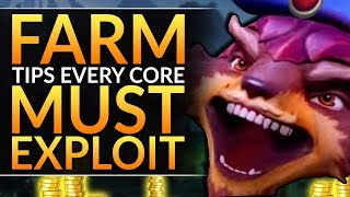 Farm Tips EVERY CORE Must Know to IMPROVE - Tricks of the Offlane KING - Dota 2 Carry Guide ft. Zai