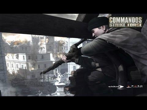Офигенная Игра про СПЕЦНАЗ Второй Мировой Войны ! Commandos Strike Force