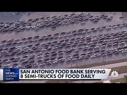 Texas food bank has to ration food to help the hungry
