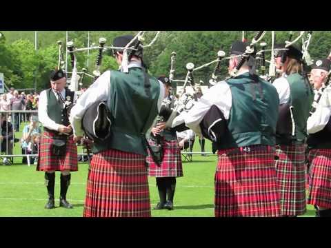 Harry Ferguson Memorial Pipe Band @ UK Championship 2017
