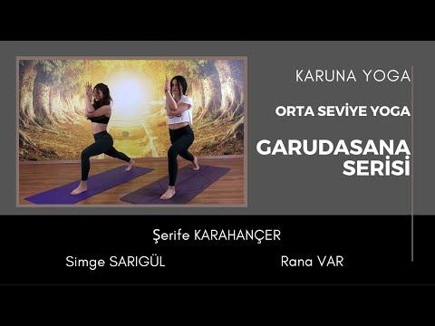 Orta Seviye Yoga Dersi - Garudasana Serisi