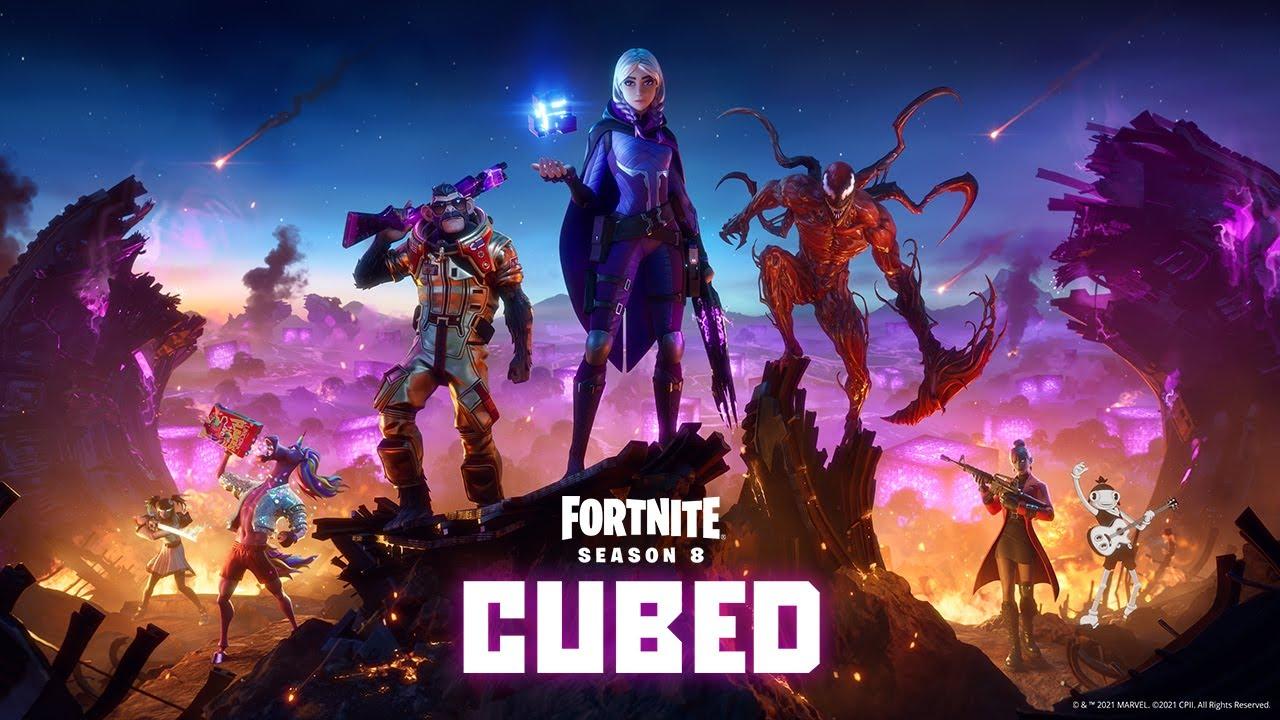 Cubed Story Trailer για την 8η σεζόν του Fortnite