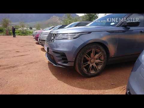 First tour of the new Range Rover Velar plus 0-100 test on WET GRAVEL!