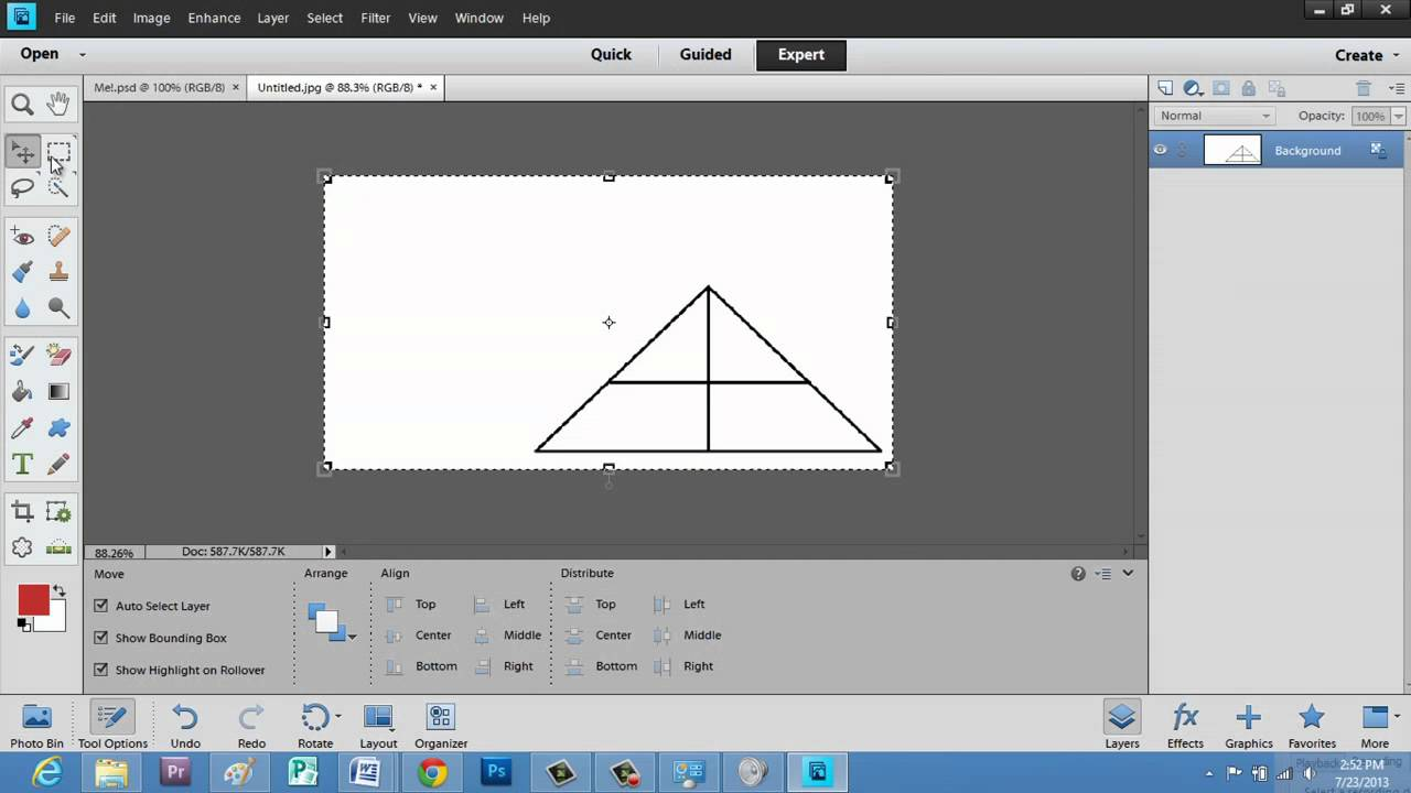 how to cut and paste in photoshop