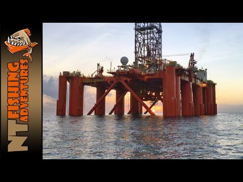 Darwin Offshore Gas Rig Fishing - NT Fishing Adventures