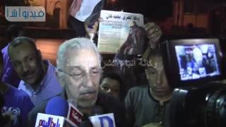 بالفيديو : المخرج علي عبد الخالق محمد خان رجل يعشق الشارع