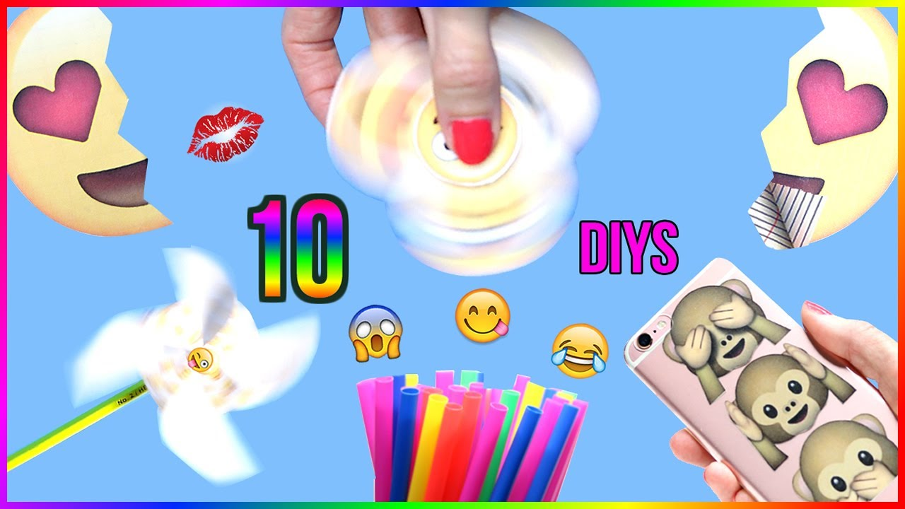 5 Minute Crafts To Do When Youre BORED 10 DIY Emoji Projects You NEED Try Life Hacks DIYs