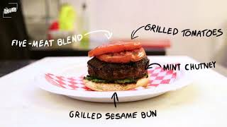Lawrence Weibman learns How to Make NYC's Best Halal Burger at BK Jani in Bushwick, Brooklyn