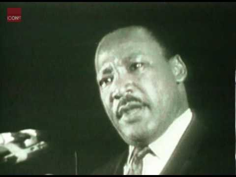 Martin Luther King giving his, I have seen the Promised Land speech