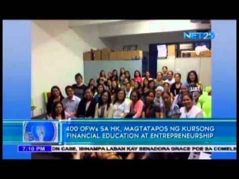 400 OFWs sa Hong Kong, magtatapos ng kursong Financial Education at Entrepreneurship