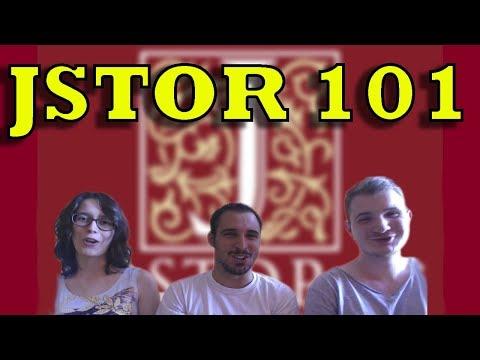 JSTOR 101 - A VÉGTELEN FORRÁS