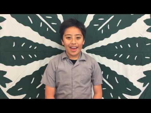Cook Islands Language Week Monday