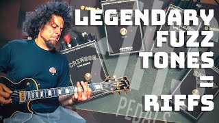 Every Kind Of Fuzz Tone I Could Ask For   JHS Fuzz Legends