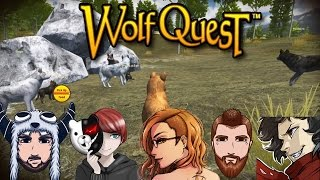 Wolf Quest: Steam Edition ~Raise Pups Multiplayer Attempt 2~ The Start of a Beautiful Journey!