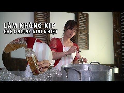 Sài Gòn nắng nóng kỷ lục, hot girl bán chè online kiếm hàng trăm triệu mỗi tháng