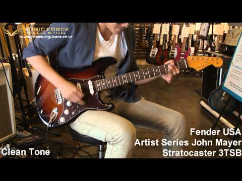Fender USA Artist Series John Mayer Stratocaster Demo by Music force