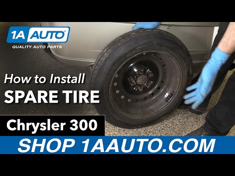 How to Install Spare Tire 05-10 Chrysler 300