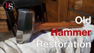 �������� ���� Old Rusty Hammer Restoration ������