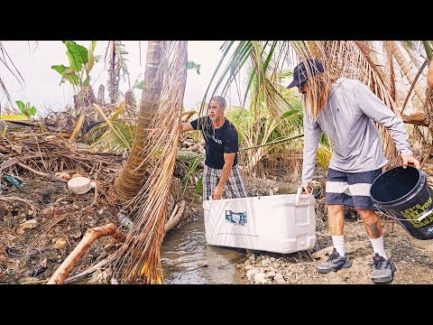 Puerto Rico Relief Efforts: Crazy Legs and Waves For Water